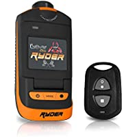 Sound Around GDV785OR HD Video Recording Gear Pro Ryder Action Camera, Hi-Resolution Fully HD, 16 MegaPixel Images, 1080p Video, Fold-Out 1.5-Inch LCD Display