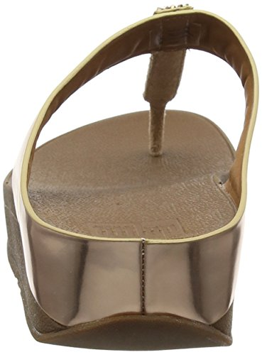 Rose Post Gold FitFlop Rose Fino Femme Toe Sandales 323 BExqnYAvq