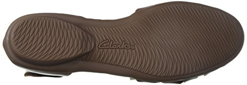 Clarks Womens Gracelin Art Mary Jane Pelle Scura Marrone Scuro