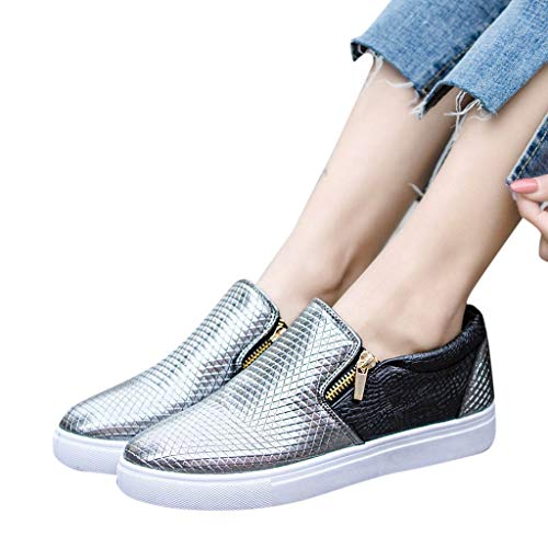 Todaies Womens Soft Bottom Casual Sneakers Flat Slip for sale  Delivered anywhere in USA