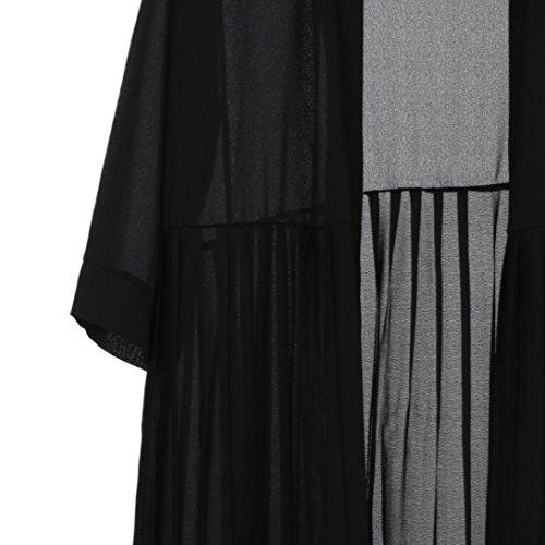 Singular Abrigo Clásico Point Mujer Para negro araznq