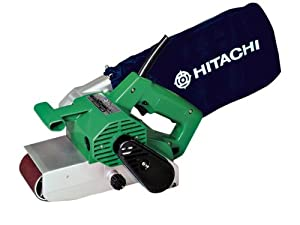hitachi belt sander. hitachi sb75 240 volt 2 speed belt sander 75mm 950w h