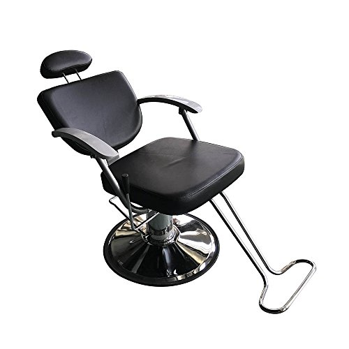 Z ZTDM Hydraulic Reclining Barber Chair Hair Styling with Footrest,All Purpose Beauty Salon Shampoo Spa Equipment by Z ZTDM