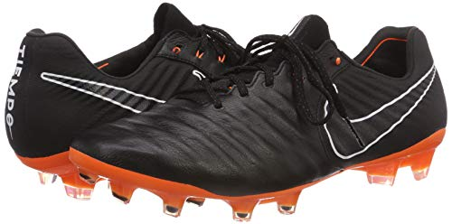 FG Legend Black Total Nike Tiempo 080 VII Multicolore Orange B Elite Adulte Homme Sol Dur RqwIaCw