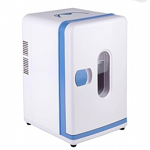 Refrigerador Del Coche 12L Mini Mini-Refrigerador Estudiante Dormitorio Mini-Fría Y Caliente Caja Casa Maquillaje Medicina Puede Ser Enfriado / Calefacción,Blanco,12L by HOMEE @