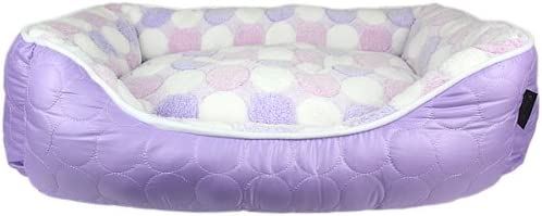 Parisian Pet Cotton Candy Pet Bed, Purple