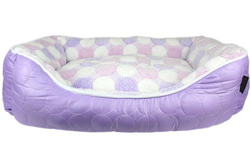 Parisian Pet Cotton Candy Pet Bed, Purple