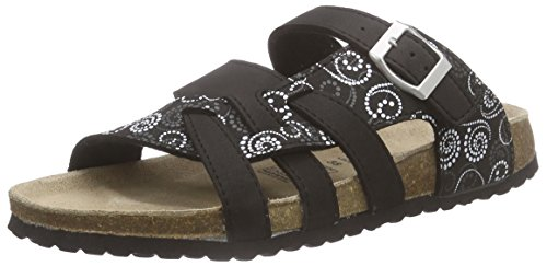 099 Nero Black Softwaves Ciabatte Multi 147 274 Donna Schwarz 448qzxBwA