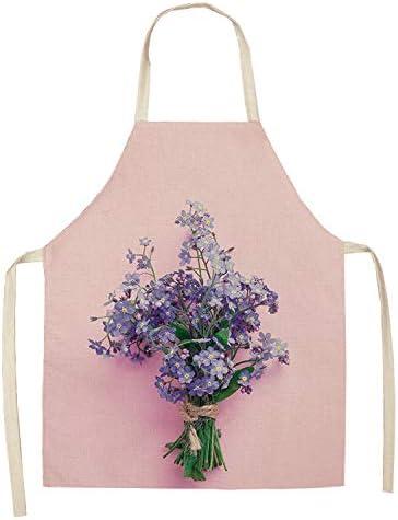 TPCMD Flores Creativas sin Mangas de la fábrica de algodón Delantales,8: Amazon.es: Hogar