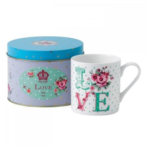 (Royal Albert New Country Roses Love Mug, Tin)