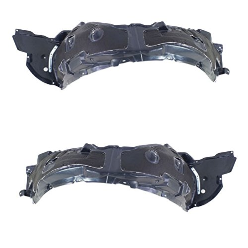 Koolzap For 09-10 IS250 & IS350 Front Splash Shield Inner Fender Liner Left & Right SET PAIR