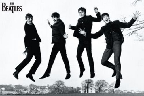 Aquarius The Beatles Jump Poster, 24-Inch by 36-Inch
