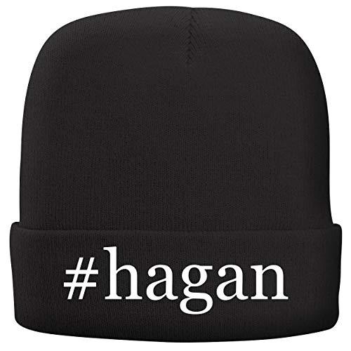 (BH Cool Designs #Hagan - Adult Comfortable Fleece Lined Beanie, Black)