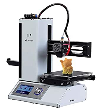 Monoprice Select Mini V2 3D Printer Mini Impresora 3D con Cama calefactada y Adaptador de Corriente para Reino Unido (Tipo G) 124166