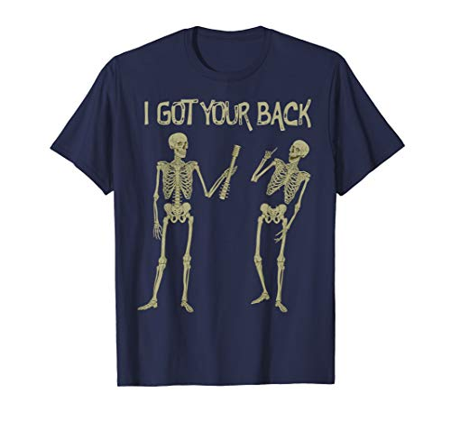 Office Party Ideas For Halloween (Funny Meme Skeleton I Got Your Back Halloween Party Costume)