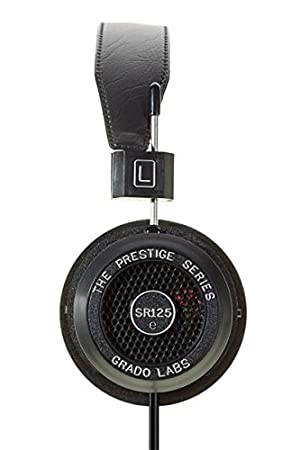 Grado SR125e Prestige Series - Auriculares de diadema abiertos, negro