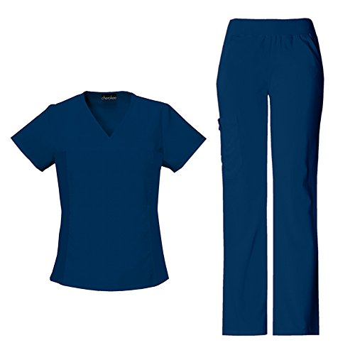 Cherokee Womens Flexibles V Neck Scrub