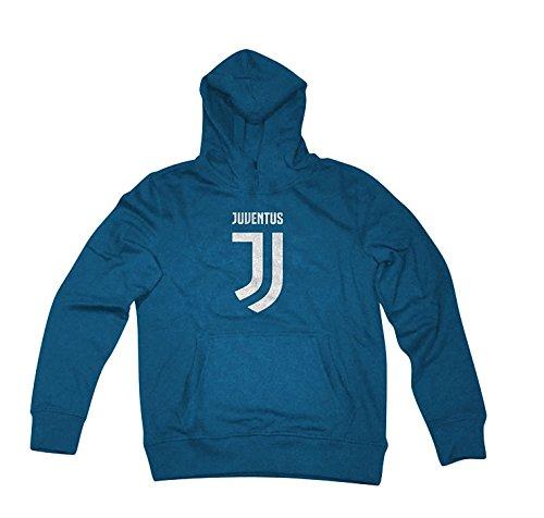 Felpa Cappuccio Blu Ufficiale Bambino F.C. Juventus (10 ANNI)