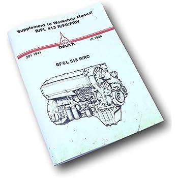 Amazon.com: Khd Deutz Bfl 413 Bf6L 513 Diesel - Juego de ...
