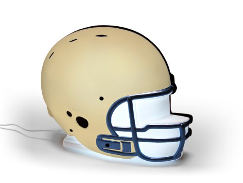 NCAA Navy Midshipmen LED-Lit Football Helmet