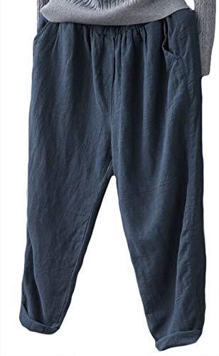 De Lin Marine Plage Pantalon En Femme Causal Icegrey xXBtq