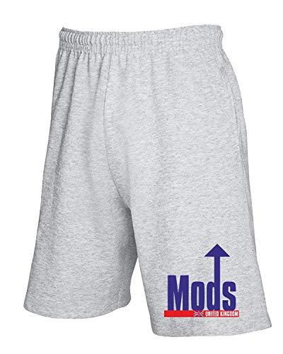Tuta T Grigio Mods shirtshock Uk Pantaloncini Oldeng00183 qZrEZw