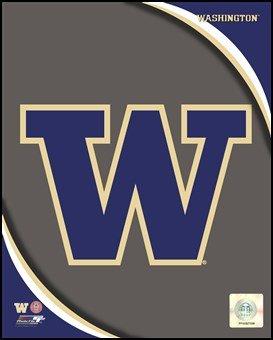 University of Washington Huskies Team Logo Art Poster Print Unknown