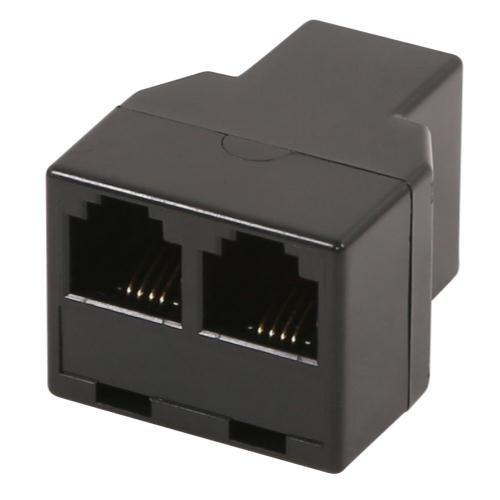 Gavita 03-160-365 3 Way RJ14 Cable Splitter Master Controller - Black 906187
