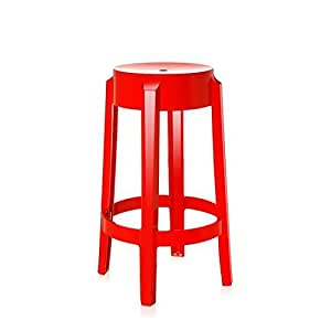 Amazon Com Kartell 4898 E7 Charles Ghost Stool By