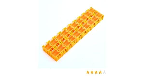 Naranja 20 SMD bloques montaje superficial caja de almacenaje para ...