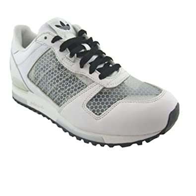 04a3e9a7f Mens Adidas ZX 700 ZX700 White Retro Trainers Running Trainer Shoes Size UK  7  Amazon.co.uk  Shoes   Bags