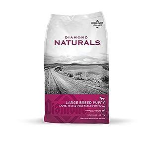 Diamond Naturals Large Breed Puppy Real Lamb Recipe Premium Dry Dog Food 72