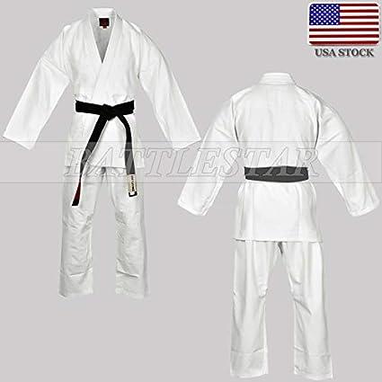 Black BJJ Kids Fit GI// 350 GSM Pearlweave// Ripstop Brazilian Jiu-jitsu Kimono