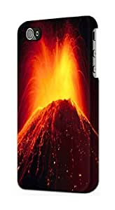 S0745 Volcano Lava Case Cover for IPHONE 5C