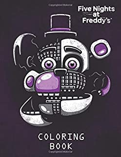 Amazon Com Five Nights At Freddy S Coloring Book For Kids Adults