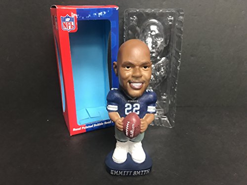 Emmitt Smith Dallas Cowboys Legend NFL Limited Edtion Bobblehead holding Football Smith Bobble Head