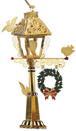 Baldwin 4- inch Victorian Lamp Post Ornament