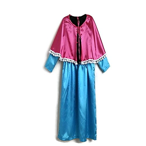 KWC - Princess Anna from Elsa Snowflake Snow Dress Costume