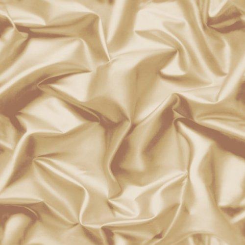 Silk Textured Wallpaper (Coffee / Cream - F72907 - 3D Gathered Silk Effect - Crushed Velvet - Muriva W...)