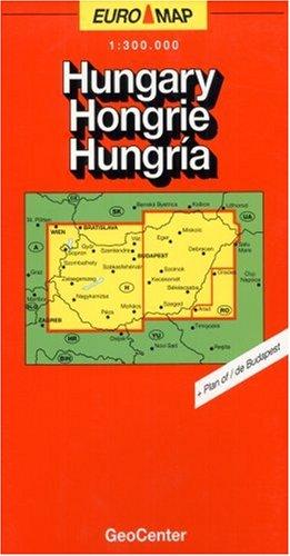 Euro-országtérkép 1:300.000 (GeoCenter Euro Map) (Hungarian ()