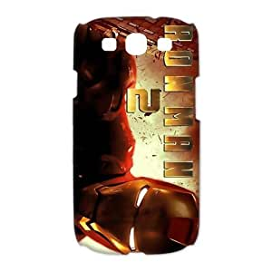 Custom Iron Man Hard Back Cover Case for Samsung Galaxy S3 CL518 by ruishername
