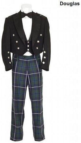 Para falda escocesa para hombre con estampado de Douglas de ...