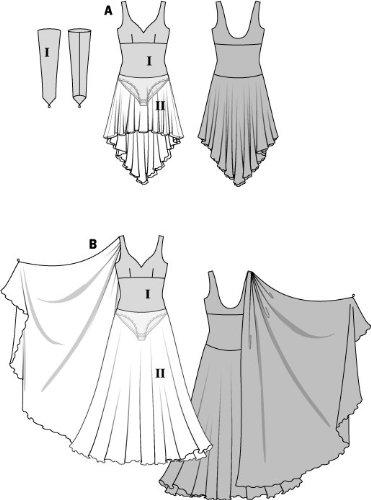 Vokuhila Kleid Schnittmuster | Kleid & Kleidung