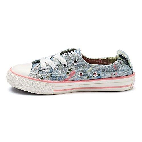 Converse, Sneaker donna blu Hellblau