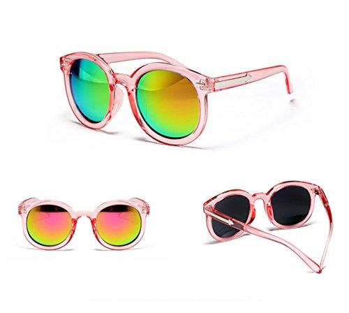 Sunglasses Soleil de des 2 réfléchissantes Couleur Lunettes Lunettes 8 Lunettes Hipster Soleil X9 de Korean Eyewear xRRwa0qPU