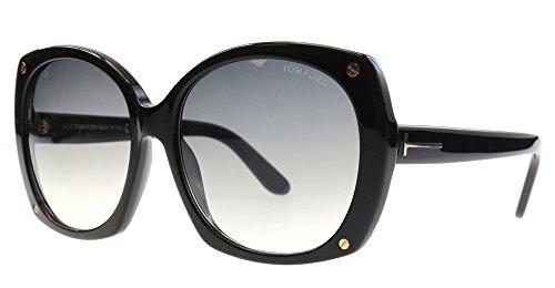 Tom Ford 01B Black Gabriella - Black Butterfly Sunglasses Size 59mm (All-star-sonnenbrille)