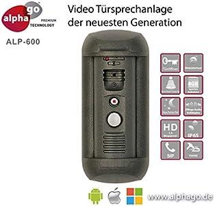 alphago IP Video Türsprechanlage ALP-600 - ohne Cloud