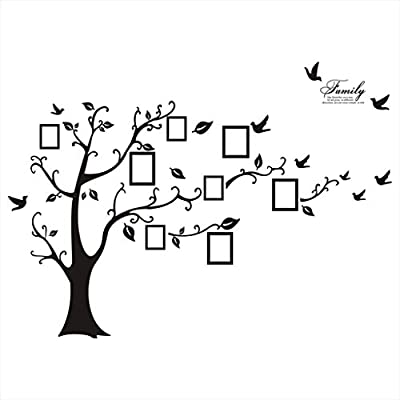 Large Memory Tree Photo Tree Wall Vinly Decal Decor Sticker Removable Wall Decal DIY Wall Stickers