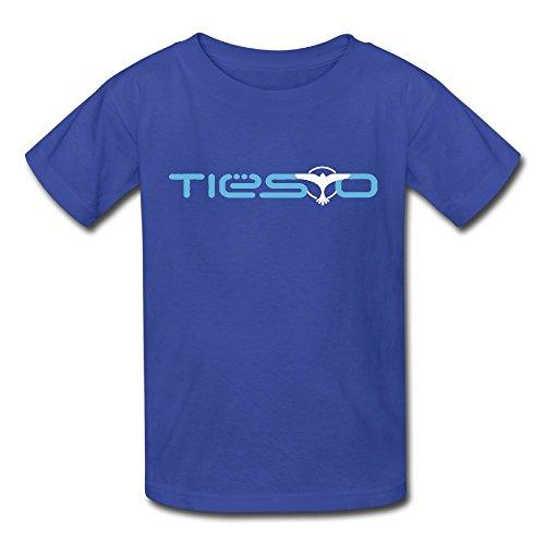 Oyavdsznq Kid Tiesto Classic Outdoor RoyalBlue T-Shirts L Short Sleeve