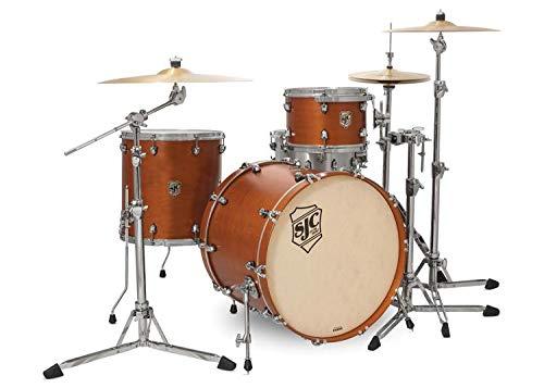 SJC Custom Drums Tour Series 3-piece Shell Pack - Golden Ochre